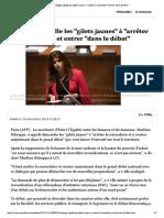"""Schiappa Appelle Les """"Gilets Jaunes"""""""