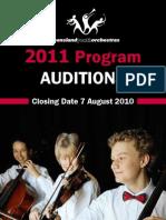 Qyo Audition Brochure
