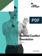Internal Conflict Resolution