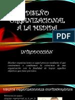 Diseño Organizacional a La Medida Presentación
