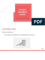 economic inequality in america - hannah josh clara gretta