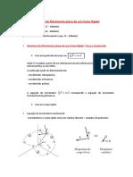 Notas de Aula 1 - Dinâmica Do Corpo Rígido