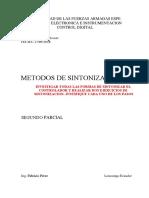 Metodos de Sintonizacion Alcoser Efrain