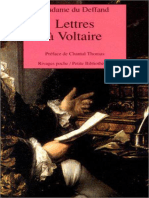 Lettres a Voltaire