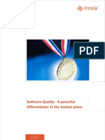 Software Quality - A differentiator