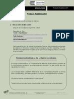 Sociologia Producto Académico N1 (Entregable)