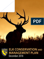 2018 California Department of Fish and Wildlife Elk Plan