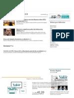 Novo Cpc e Dissolução Parcial de Sociedade - Valor Econômico l & t 2015.11.05.