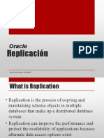 Replication Base datos  Oracle