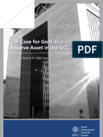 DIFC - The Case for Gold as a Reserve Asset in the GCC