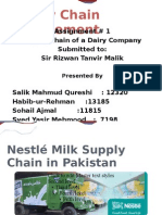 Nestlé Milk Supply Chain in Pakistan