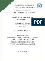 Patología forensee
