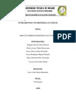 Fundamentos y Ecosistemas Acuáticos