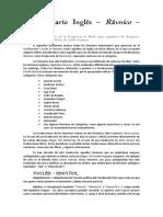 Glosario Inglés - Español / D&D Guildmaster's Guide to Rávnica