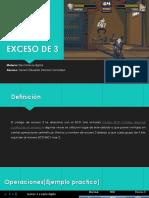 Expocicion Unidad 2-Exceso de 3 -Electronica Analogica