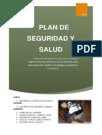 Plan de Segurdad y Salud -SAP-  Urubamba