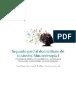 Segundo Parcial Domiciliario de La Cátedra Musicoterapia I
