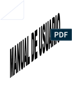 Manual de Usuario de Digitales