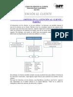 Atención Al Cliente - Normas de Cortesia - Parte i