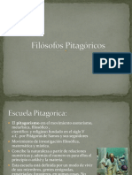 Filósofos Pitagóricos