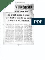 Facsimil Manifiesto Liminar