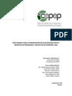 Guia General Analisis Costo Beneficio (CEPEP)
