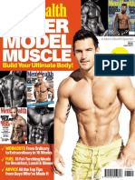 Mens Health Cover Model Muscle Issue 2017 Preview
