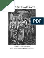 Talks on the Ramayana