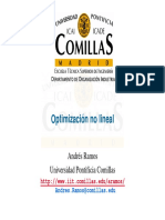 Optimizacion Ni Lineal