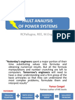 Fault Analysis of Power Systems