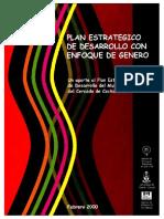 Plan Estrategico de Desarrollo CBBA 2000