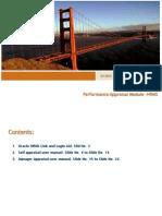 PMP 2010_Annual Appraisal User Manual