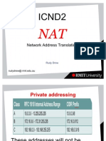 ICND2  NAT
