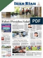 Haluan Riau, Jumat  19 Oktober 2018