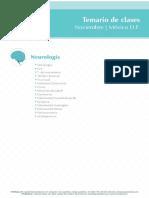 Temario de Clases Neurologia