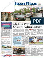 Haluan Riau, Senin 22 Oktober 2018