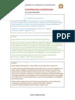 materiales de la construccion definicion autores