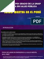 Salud Mental en El Perú