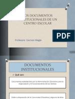 Los Documentos Institucionales de Un Centro Escolar (8)