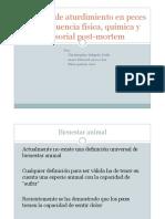 Métodos de Aturdimiento en Peces y Su Influencia Física Química y Sensorial Post Mortem