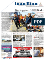 Haluan Riau , Selasa 30 Oktober 2018