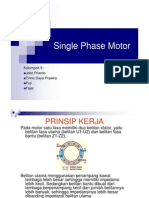 Presentation Single Phase Motor