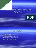 Eight Building Blocks of Crm