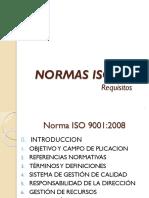 NORMAS ISO 9001- Definiciones y Principios