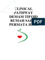 Clinical Pathway Demam Tifoid RS PERMATA HATI