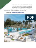 Đi du lịch Vũng Tàu nên ở Resort nào tốt?