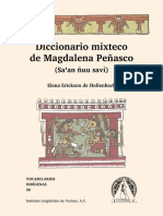 Diccionario Mixteco de Magdalena Peñasco (Saꞌan Ñuu Savi)