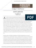 Saint Origen by David Bentley Hart _ Articles _ First Things