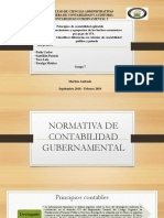 Principios de Contabilidad Aplicable, Reconocimiento y Agrupacion de Hechos Economicos