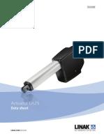Linear Actuator La25 Data Sheet Eng